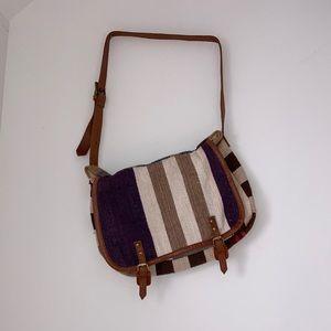 RAJ Anthropologie Boho Carpet Blanket Bag